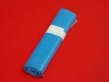 Vrece 590 x 700 mm / 0,024 mm, modré, 60 l, na rolke obr.